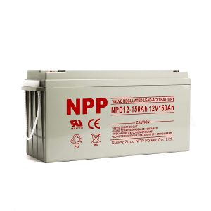 NPP NPD12-150Ah AGM Rechargeable Deep Cycle Sealed Lead Acid 12V 150Ah Battery